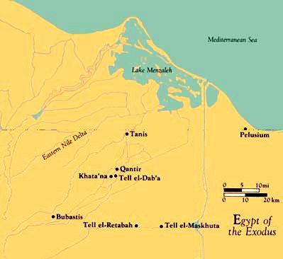 Egypte de l'Exode
